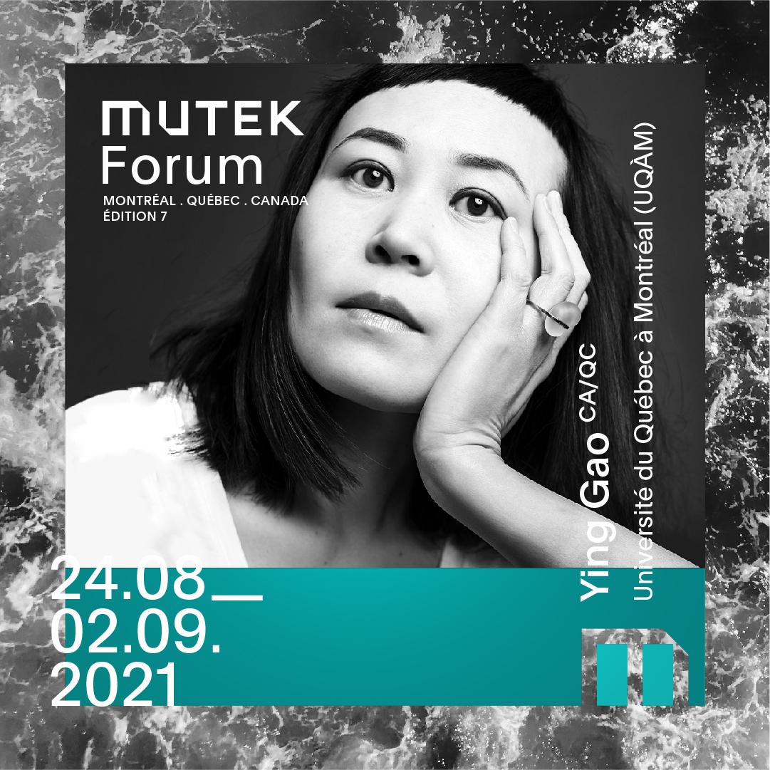 Ying Gao au MUTEK 2021